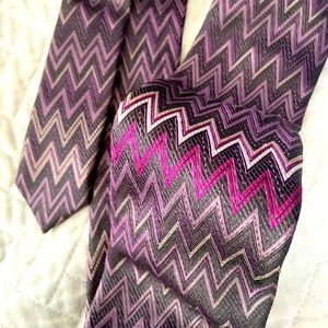 Missoni neck tie used